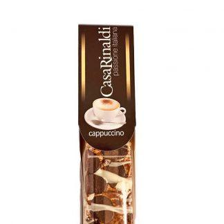 Noga.nl Italiaanse Zachte Noga Reep in de smaak Cappuccino
