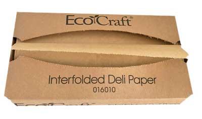 EcoCraft voedselveilig en hygiënisch inpak papier